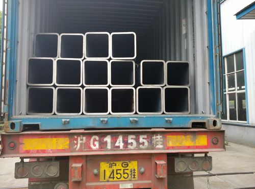 China news about 980 Tons RHS (Seamless Rectangular Steel Tubes) shipped to Israel for Ormat's large project !