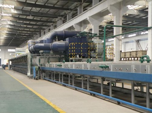 China news about Huacheng's LOI German Equipment (Furnce imported from Germany) Upgrading Accomplished !