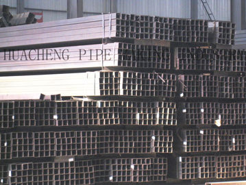 China Thick Wall Rectangular Steel Tube , Building Structure Square Steel Pipeon sales